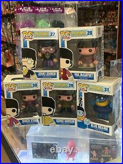 The Beatles Set Lot (Yellow Submarine, Funko Pop)