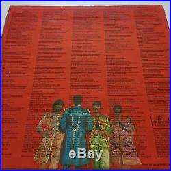 The Beatles Sgt Pepper's Lonely Hearts Club Band 1967 Vinyl PMC7027