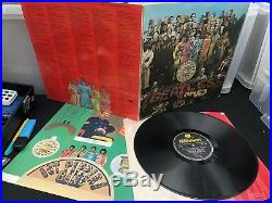 The Beatles Sgt Pepper's Lonely Hearts Club Band PMC7027 UK Mono Vinyl LP