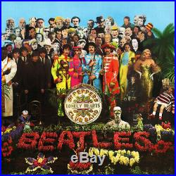 The Beatles Sgt. Pepper's Lonely Hearts Club Band Vinyl LP 2014 NEWithSEAL Mono