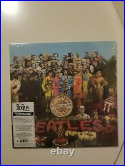 The Beatles Sgt. Pepper's Lonely Hearts Club Band in Mono vinyl records SS