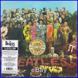 The Beatles Sgt. Pepper's Lonely Hearts Club Band remastered MONO vinyl LP NEWithS