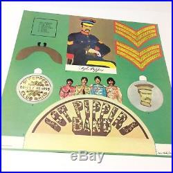 The Beatles'Sgt. Pepper's' PCS7027 Vinyl LP Signed Peter Blake! Rare