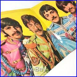The Beatles'Sgt. Pepper's' PMC7027 Vinyl LP 1st Press Signed Peter Blake! Rare