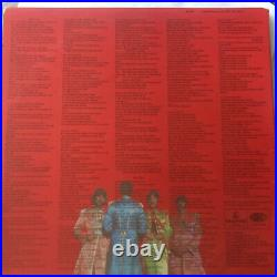 The Beatles Sgt Peppers LHCB First Press UK Mono Vinyl Lp Fool Inner -1/-1