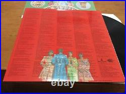 The Beatles. Sgt. Peppers Lonely Hearts Club Band. 1967 Parlophone Vinyl Record