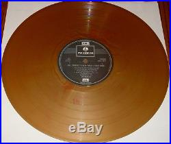 The Beatles Sgt. Peppers Lonely Hearts Club Band Gold Colored Vinyl Import Lp