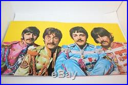 The Beatles Sgt. Peppers Lonely Hearts Club Band LP Coloured Vinyl 1987 Limited