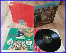 The Beatles Sgt Peppers Lonely Hearts Club Band Lp Vinyl Pmc 7027 Fourth Proof