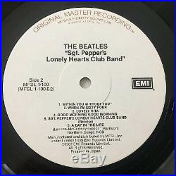 The Beatles Sgt Peppers Lonely Hearts Club Band MFSL Mobile Fidelity Japan