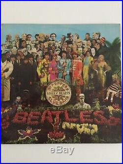 The Beatles Sgt Peppers Lonely Hearts Club Band Vinyl LP 1st Press Excellent