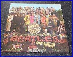 The Beatles Sgt Peppers Lonely Hearts Club Band Vinyl Lp Wide Spine Uk Nm