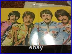 The Beatles. Sgt Peppers Lonely Hearts Club Band1967.1st Pressing. Vinyl Record