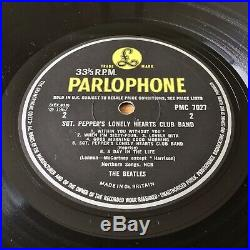 The Beatles Sgt Peppers (Parlophone PMC 7027) 1967 1st UK Mono Vinyl Press