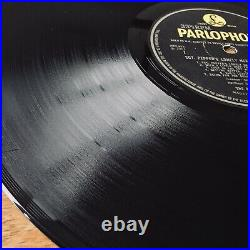 The Beatles Sgt Peppers (Parlophone PMC 7027) 1967 1st UK Wide Spine Mono Vinyl