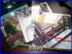 The Beatles Stereo Box Set 16 LP 2012 5099963380910 new