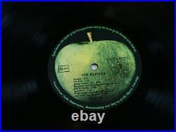 The Beatles THE WHITE ALBUM EMI Apple 1C 192-04173/74 Germany 2 LP No 000949 nm