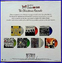 The Beatles The Christmas Records Box Set STILL SEALED 7 Colored Vinyl Discs