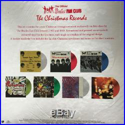 The Beatles The Christmas Records limited 7x 7 colored vinyl singles Fan Club