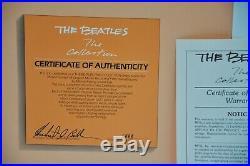The Beatles The Collection MFSL Vinyl LP Box NM Original Shipping Box Audiophile