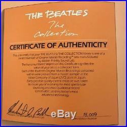 The Beatles The Collection Mobile Fidelity Sound Lab (MoFi) 14 vinyl LP box