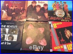The Beatles The Singles Collection 7 Vinyl Record Boxset Rare