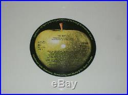 The Beatles The White Album LIMITED EDITION WHITE VINYL RI PCS 7067-8