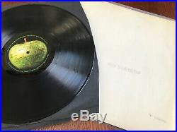 The Beatles (The White Album) U. K. Mono Vinyl 68 1st Press No. 0046592