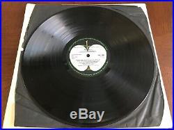 The Beatles (The White Album) U. K. Mono Vinyl 68 1st Press No. 0241359