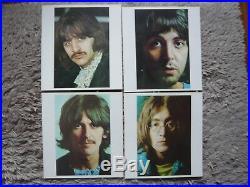 The Beatles The White Album Vinyl Japan 1976 Flag 10 Obi Japanese Import LP EXC