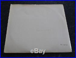 The Beatles The White Album Vinyl Lp First Uk Pressing Mono Wide Spine Spacer