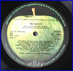 The Beatles The White Album Vinyl Lp Stereo Uk 1st Pressing Top Loader 0434673