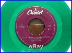 The Beatles, Ultra Scarce Single Norwegian Wood Green Vinyl
