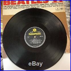 The Beatles VI Vinyl LP 1965RARE UK Export KT -Yellow Pharlophone -CPCS 104