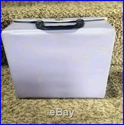 The Beatles Vintage Lavender Kaboodle Kit Vinyl Lunchbox Nems Super Rare Color