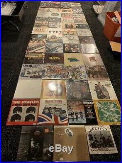 The Beatles Vinyl Lot 55 Records Lps Anthology Capitol Label Sealed John Lennon