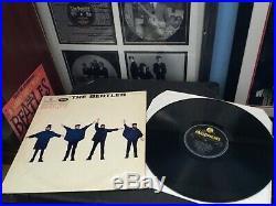 The Beatles Vinyl Lp HELP Uk 1965 1st Press Rare Outline Mono