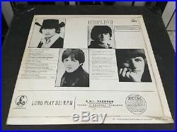 The Beatles Vinyl Lp HELP Uk 1969 2nd Pressing Small Black STEREO Rare