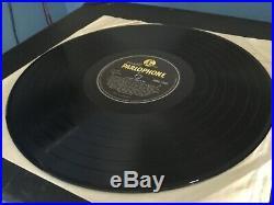 The Beatles Vinyl Lp Please Please Me Orig Uk Press Y / B Mono 1963 Mkt Vg/ex