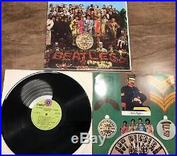 The Beatles Vinyl Record Lot White Album Sgt Peppers All Things Must Pass