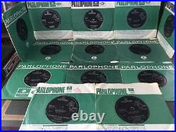 The Beatles Vinyl job lot of 7inch singles Uk Pressings Rare Collection 45rpm
