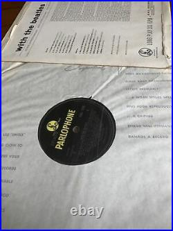 The Beatles WITH THE BEATLES 1963 FIRST PRESSING MONO VINYL LP RECORD