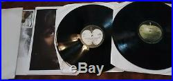 The Beatles White Album 1968 Apple Records 2x Vinyl LP + Poster and pics