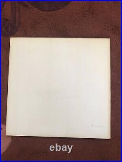 The Beatles White Album. 1st U. K. Mono. No EMI. V. Low Number. 1/1/1/1. EX-/EX
