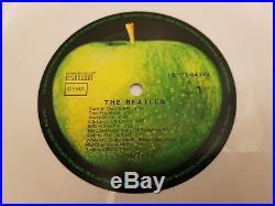 The Beatles White Album DMM White Vinyl LP 1985 German Mega Rare Numbered Photos