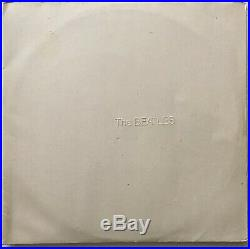 The Beatles White Album Milk White Vinyl Made in Germany Inserts 2lps Numbered