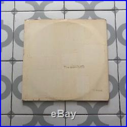 The Beatles White Album Mono 1st Press PMC7067 12384 No EMI Top Loader Vinyl LP