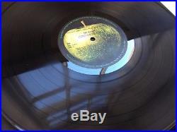 The Beatles White Album Mono 1st UK NO EMI low nr. Top opening record vinyl LP