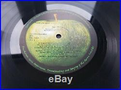 The Beatles / White Album Mono Vinyl Lp + Inserts / 1968 Pmc 7067-8 Uk Raccoon