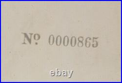 The Beatles, White Album No. 0000865 1968 Original UK MONO 1st Press
